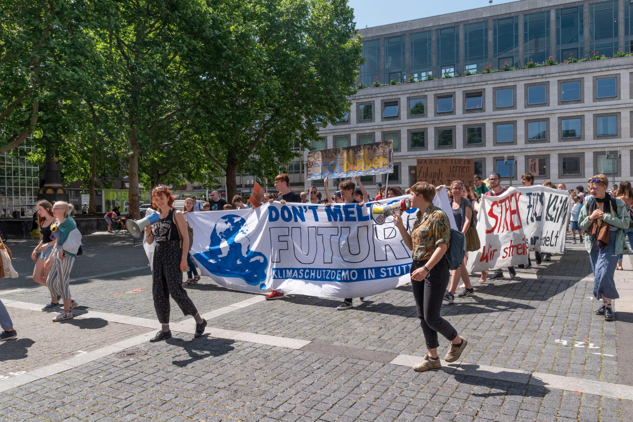 Eine der (fast) wöchentlichen Protestveranstaltungen
